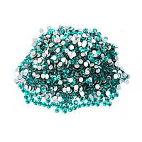 Стразы на ногти Swarovski Crystal 50 штук бирюза SS3