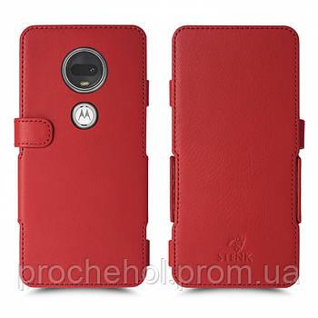 Чехол книжка Stenk Prime для Motorola Moto G7 Красный