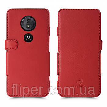 Чехол книжка Stenk Prime для Motorola Moto G6 Play Красный