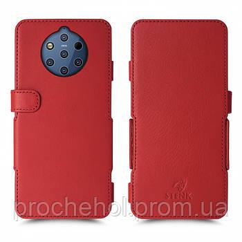Чехол книжка Stenk Prime для Nokia 9 PureView Красный