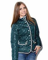 Куртка женская стежка клетка