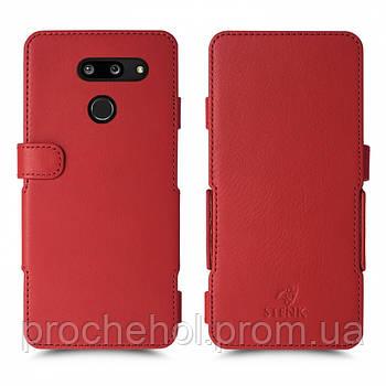 Чехол книжка Stenk Prime для LG G8 ThinQ Красный
