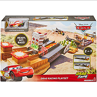 Трек Драг-Рейсинг Дисней XRS Disney Pixar Cars XRS Drag Racing Playset Mattel GFM09