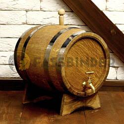 Бочка дубовая для напитков Fassbinder™, 15 литров