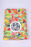 Полотенце с тропическим принтом Argento 2135-1450 One Size Цветной Argento 2135-1450