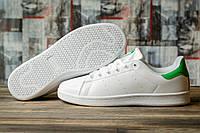 Кроссовки мужские 16481, Adidas Stan Smith, белые, < 42 43 46 > р. 42-27,0см., фото 1