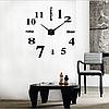 """Часы большие настенные 3D  наклейки """"DIY"""" от 80 до 150 см (ZH015-1B ), фото 4"""