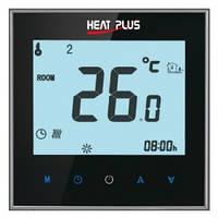 Сенсорный программируемый терморегулятор Heat Plus iTeo 4 Black