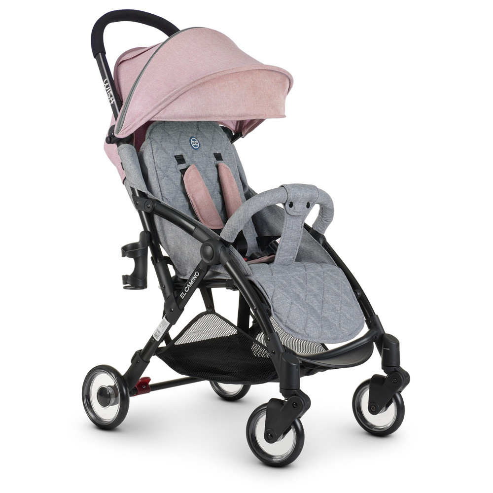 Коляска детская ME 1058 WISH Pink Gray Гарантия качества Быстрая доставка