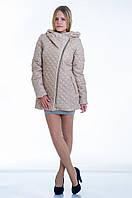 Куртка женская с широким воротником и капюшоном