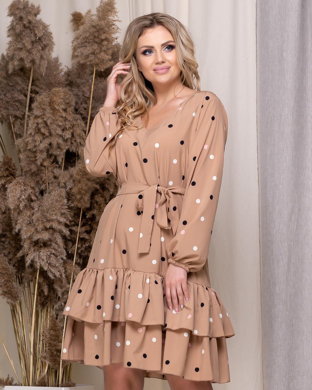 Платье Горошки 05174