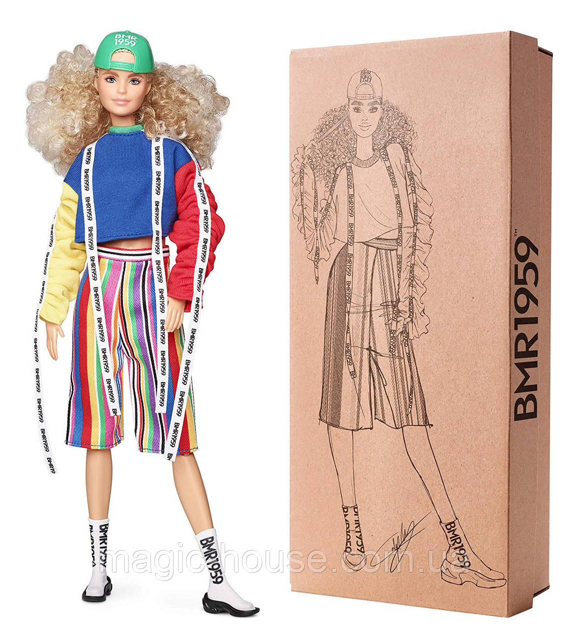 Кукла Барби Barbie BMR1959 Fashion Doll оригинал от Mattel