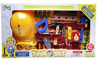 Детский набор инструментов с каской Т210