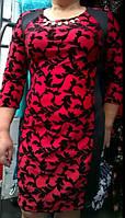 Платье женское полубатальное, фото 1