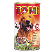TOMi (Томи) мясо (beef) консервы корм для собак банка 1,2 кг