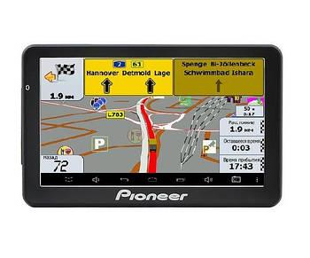 GPS-навигатор для дальнобойщиков Pioneer Pi-718 Truck с картой Европы и Украины