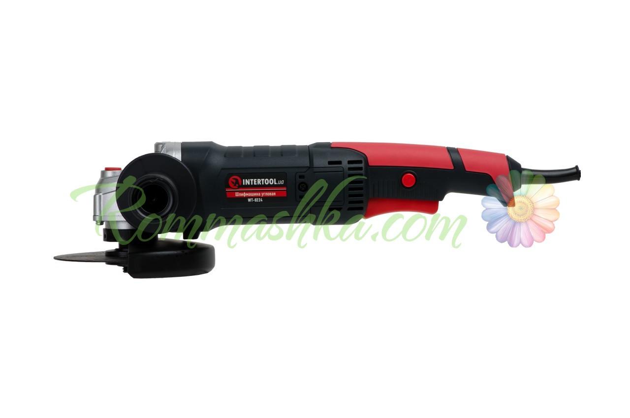 Угловая шлифмашина Intertool - 1200 Вт x 125 мм