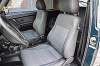 Lada Niva Авточехлы экокожа+ткань