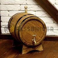 Бочка дубовая для напитков Fassbinder™, 10 литров