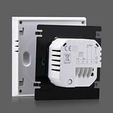 Сенсорный программируемый терморегулятор Heat Plus iTeo4 White, фото 2