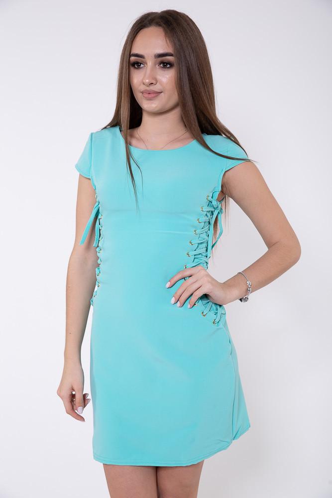 Платье 104R013 цвет Бирюзовый