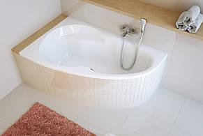 Ванна Excellent NEWA Plus 1398x950 мм, ліва + ніжки (WAEX.NEL14WH), фото 3