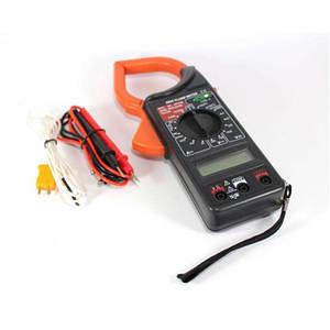 Мультиметр цифровой мультитестер DT 266C Токовые клещи