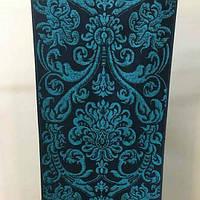 Полотенце махровое 50х90 ПЕТЕРГОФ синее Речицкий текстиль