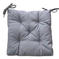 Подушка на стул 40х40 Лонета Графіт Прованс (009920)