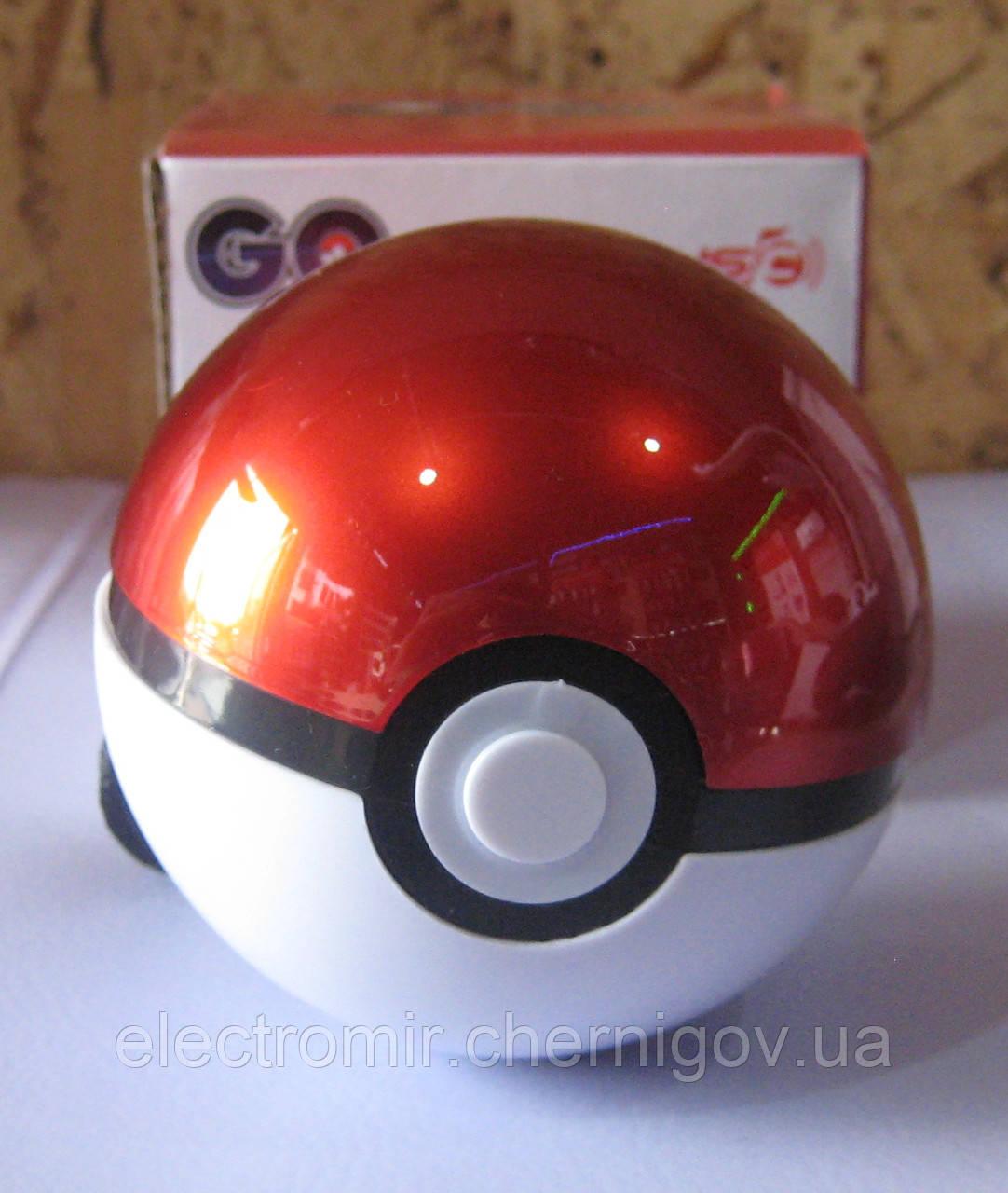 Портативная Bluetooth колонка с USB, SD, FM  и аккумулятором в виде Pokemon GO CH-30A