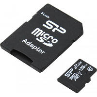Карта памяти Silicon Power 128Gb microSDXC class 10 (SP128GBSTXBU1V10SP)