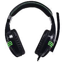 Наушники с микрофоном Salar KX101 Black (1345-5847)