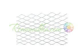 Сетка просечно-вытяжная DV - ячейка 25 х 60 мм, 10 м, металлическая