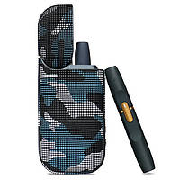 Чохол для IQOS 2.4 Plus Camouflage Case Блакитний