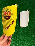 Щитки для футбола Барселона Желтые 1089 #O/T