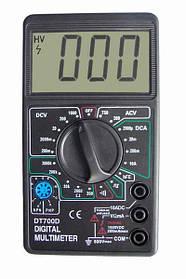 Мультиметр тестер цифровой профессиональный HLV DT700D