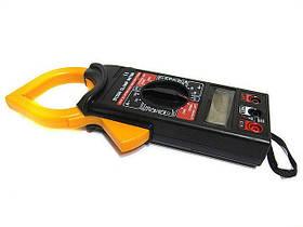 Мультиметр тестер токовые клещи HLV DT 266