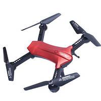 Квадрокоптер дрон радиоуправляемый с камерой HD 720P и WIFI Lishitoys L6060W Red