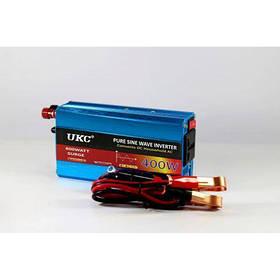 Інвертор перетворювач з чистою синусоїдою UKC AC/DC 12v 400W