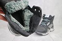 Ботинки подростковые CrosSAV 315 черные-серые (натуральная кожа, зима), фото 1