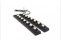 Дневные ходовые огни гибкие ДХО DRL 6 LED HLV Day Light 1202-6 4941