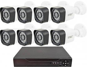 Беспроводной комплект видеонаблюдения UKC D001-8CH Full HD, набор на 8 камер