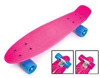 "Пенни борд скейт 22"" малиновый, фото 1"