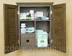 """Настенный шкафчик для медикаментов """"Корвизар"""" мокко"""