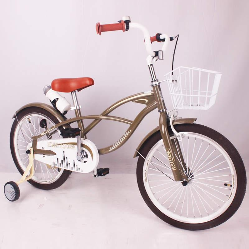 Детский двухколесный велосипед STRAIGHT A STUDENT 20 бронза 20 дюймов
