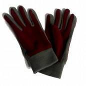 Перчатки флис женские зима