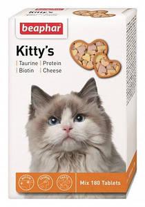 Кормовая добавка Kitty's Mix для кошек 180 табл.