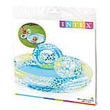 Детский надувной бассейн Intex 59460 Звезды 122 х 25 см надувным кругом и мячом, фото 5
