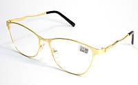 Жіночі окуляри в металі (МС 112 зол), фото 1