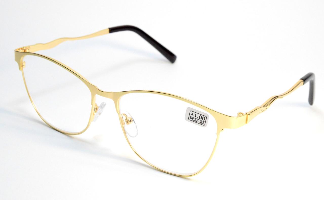 Жіночі окуляри в металі (МС 112 зол)